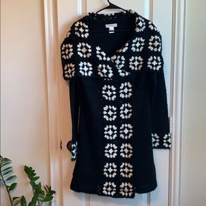 White House Black Market Mohair Long Sweater